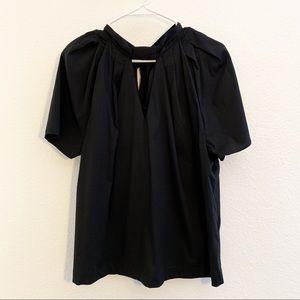 Eloquii | Black Elegant Dress Top